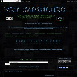 VST Warehouse +450 Free VST plugins