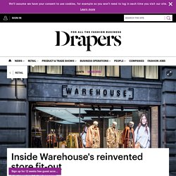 Inside Warehouse's reinvented store fit-out