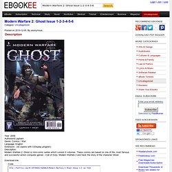 Modern Warfare 2: Ghost Issue 1-2-3-4-5-6