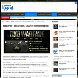 808 WARFARE - Kontakt Sample Library by The Producers Choice