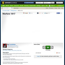 Warfare 1917 | Strategy Games