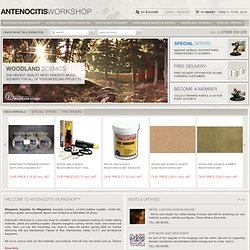 Wargames Supplies for Wargamers & Wargaming | Antenocitis Workshop
