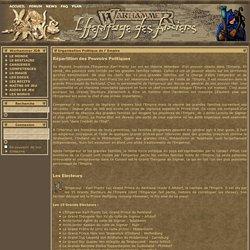 Warhammer - Organisation Politique de l' Empire