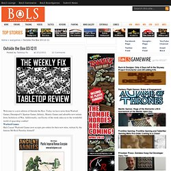 Warhammer 40k, Fantasy, Wargames & Miniatures News: Bell of Lost Souls: Outside the Box 03-12-11