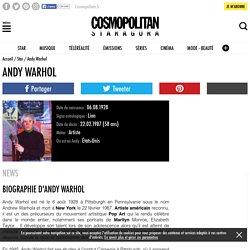 Andy Warhol - Biographie, Actu, Photos et Vidéos - Staragora