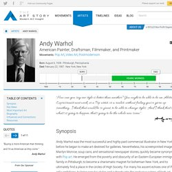 Andy Warhol Biography, Art, and Analysis of Works