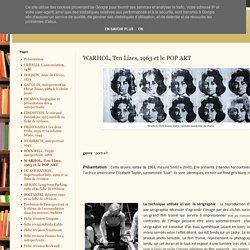 WARHOL, Tehnique de réalisation d'un portrait POP ART