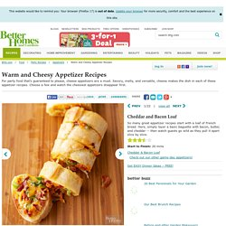 Warm and Cheesy Appetizer Recipes