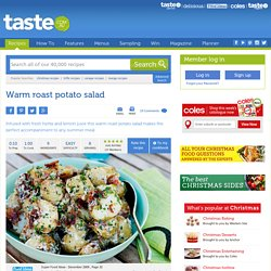 Warm Roast Potato Salad Recipe