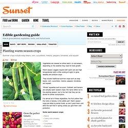 Warm-season crops