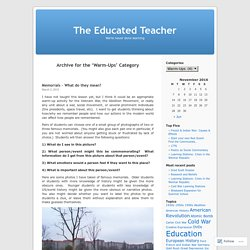 The Educated Teacher