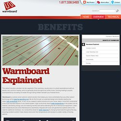 » Warmboard Explained » Warmboard Radiant Heat Subfloor: Simply Smarter Radiant Heat