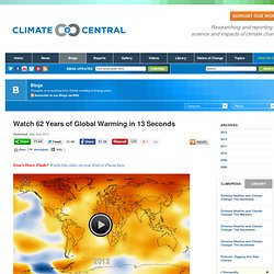 Watch 62 Years of Global Warming in 13 Seconds