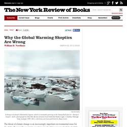 Why the Global Warming Skeptics Are Wrong by William D. Nordhaus
