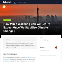 How Much Warming Can We Really Expect Once We Stabilize Climate Change?