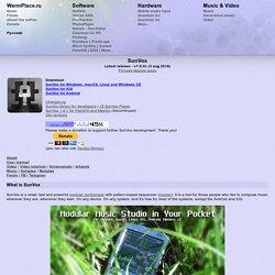 SunVox Modular Music Studio