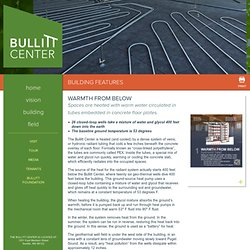 Radient Floor Heating - Bullitt Center