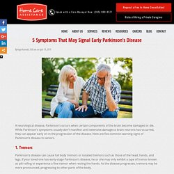 5 Common Warning Signs of Parkinson's in Seniors