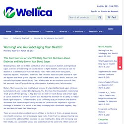 Warning! Are You Sabotaging Your Health?