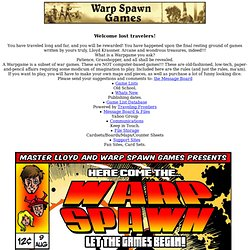 Warp Spawn Games