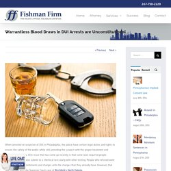 Understand The DUI Law in Philadelphia, PA With Experts Criminal Defense Lawyer