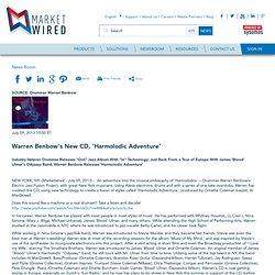 Warren Benbow's New CD, 'Harmolodic Adventure'