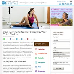 Find Power and Warrior Energy in Your Third Chakra