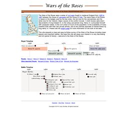 WarsOfTheRoses.com - Wars of the Roses