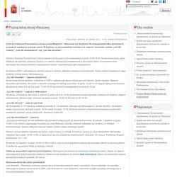 Warszawa - oficjalny portal stolicy Polski