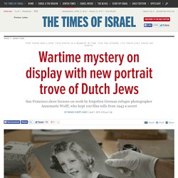 Wartime mystery on display with new portrait trove of Dutch Jews