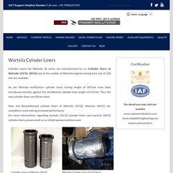 Wartsila Cylinder Liners