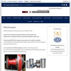 Wartsila Engine Spares