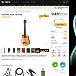 Warwick Alien Deluxe 6 - Thomann UK