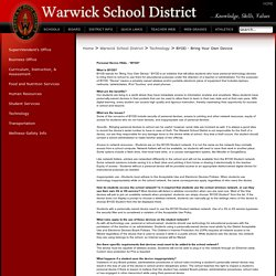 Warwick School District