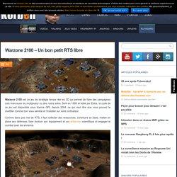 Warzone 2100 - Un bon petit RTS libre