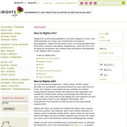 Was ist iRights.info? – iRights.info
