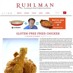 Wasabimon Shares a Gluten-Free Fried Chicken Recipe