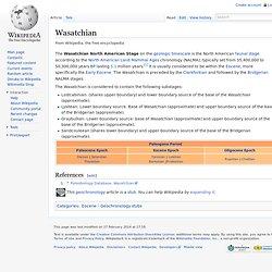 Wasatchian