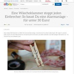 Eine Wäscheklammer stoppt jeden Einbrecher: So baust Du eine Alarmanlage – für unter 30 Euro!