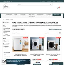 zippay washing machine