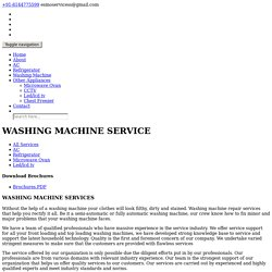 Washing Machine Service in Coimbatore,Washing Machine Service in Erode,Washing Machine Repair and Services