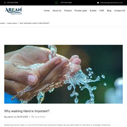 Why washing Hand is Important?