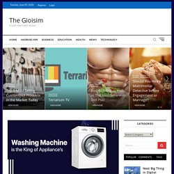 A Washing Machine is the King of Appliance's – The Gioisim