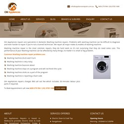 Washing Machine Repair and Service in Melbourne