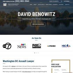 Washington DC Assault Lawyer