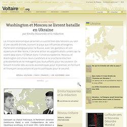 Washington et Moscou se livrent bataille en Ukraine