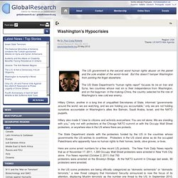 Washington's Hypocrisies