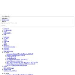 Washington Journal OPEN TRANSCRIPTS