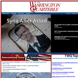 The Washington Quarterly - Home Page