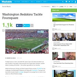 Washington Redskins Tackle Foursquare